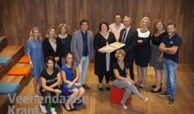 Deelnemers van het Platform kinderopvang Platform Veenendaal