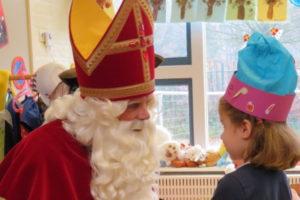 Sinterklaas op bezoek bij kinderopvang Spelendwijs Veenendaal